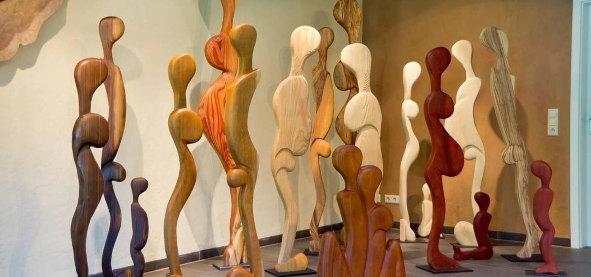 Der Holzkünstler Thomas Schwarz
