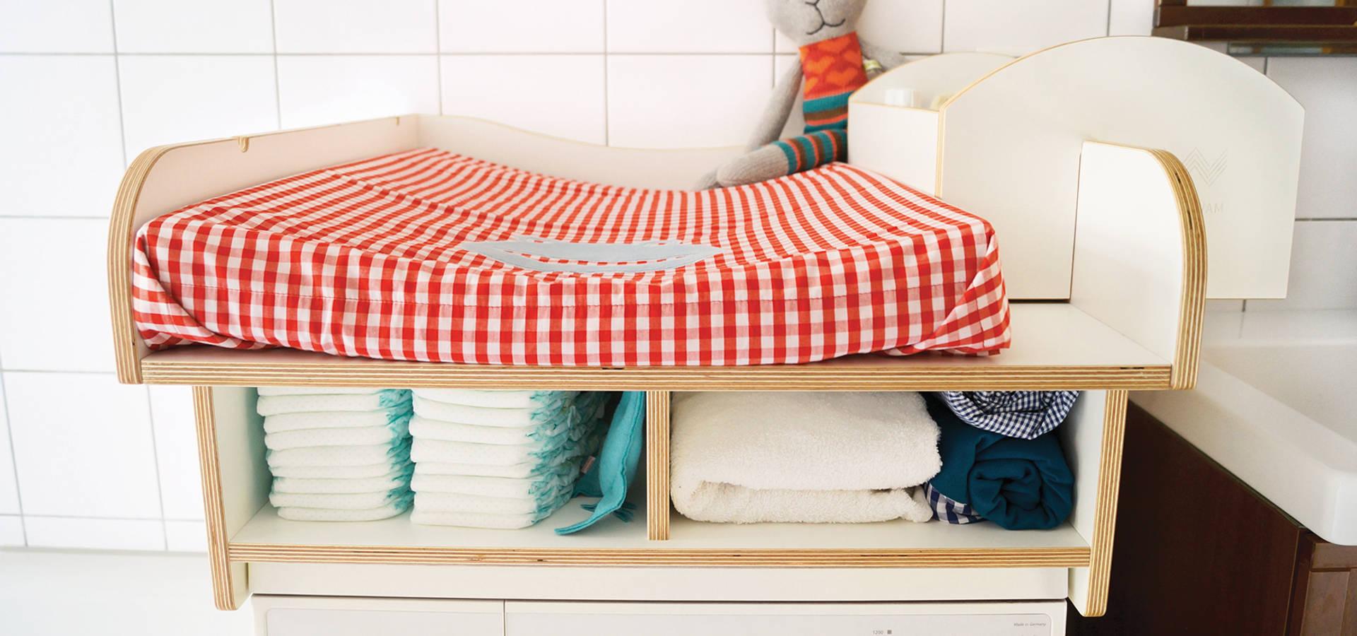 wickwam der wickelaufsatz f r die waschmaschine von wickwam homify. Black Bedroom Furniture Sets. Home Design Ideas