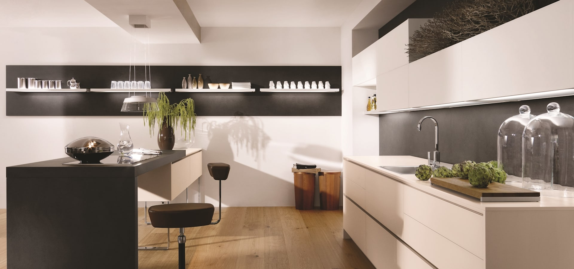 alno satina profesjonalista studio k chentraum homify. Black Bedroom Furniture Sets. Home Design Ideas