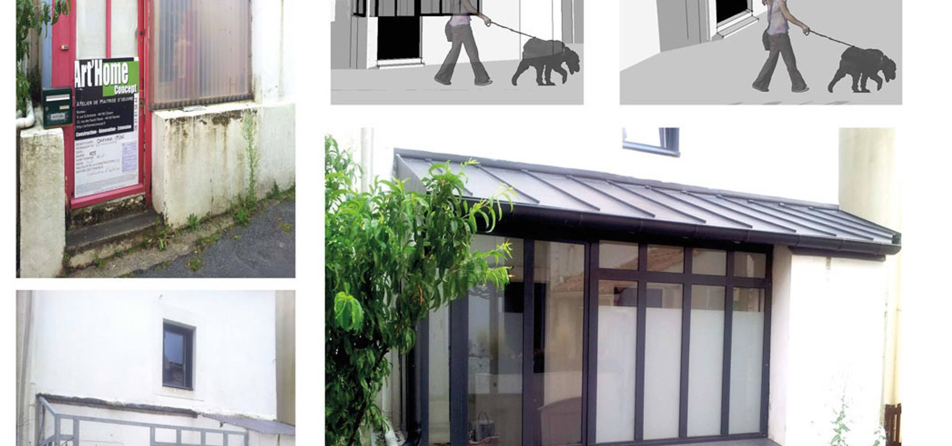 r novation nantes di arthomeconcept homify. Black Bedroom Furniture Sets. Home Design Ideas