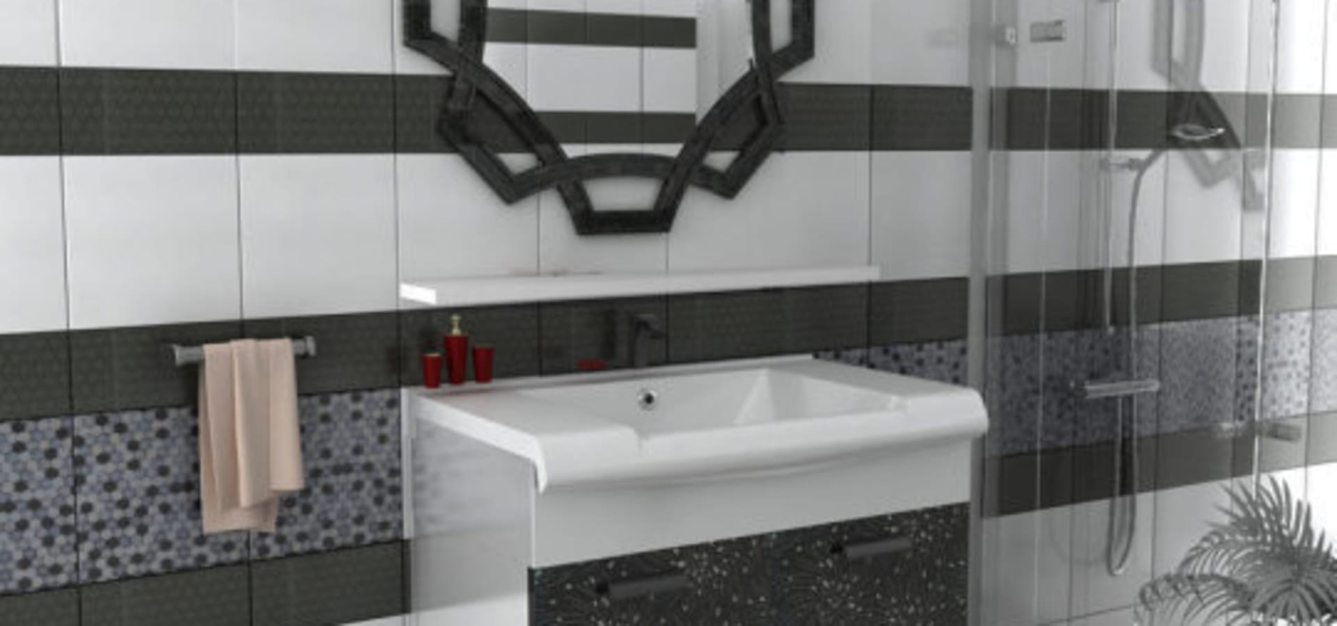 dekoset elik kap mobilya san tic ltd ti banyo dolab homify. Black Bedroom Furniture Sets. Home Design Ideas