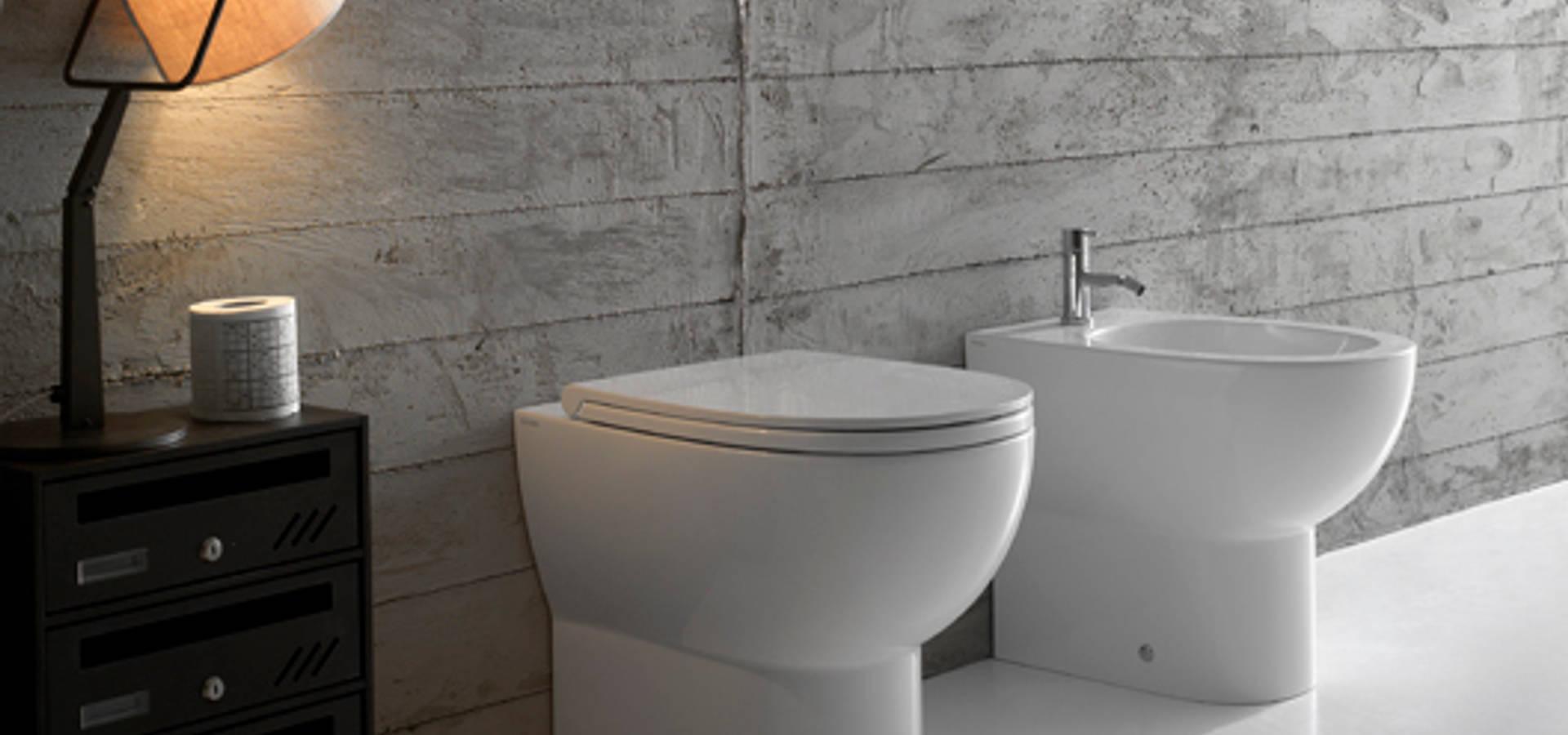 Sanitari bagno piccoli di bagno chic homify - Dimensioni sanitari bagno piccoli ...