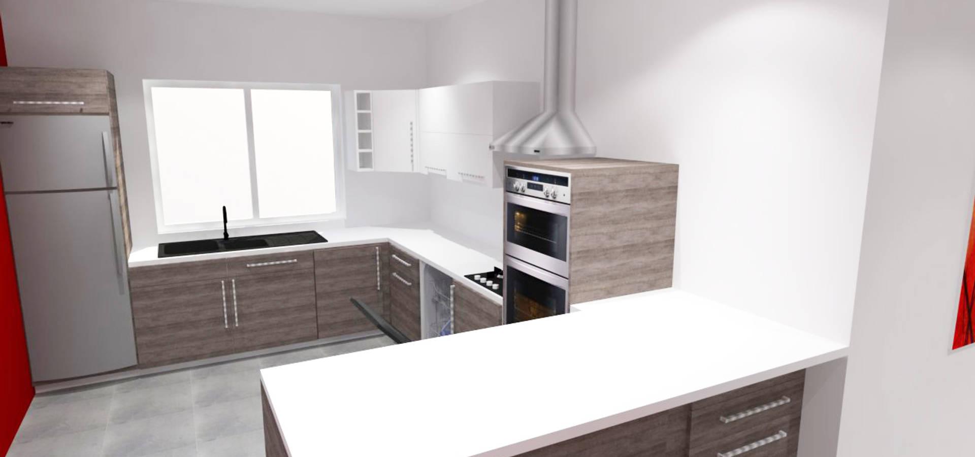 R novation d 39 une cuisine et ouverture sur le s jour por for Ouverture cuisine sur sejour
