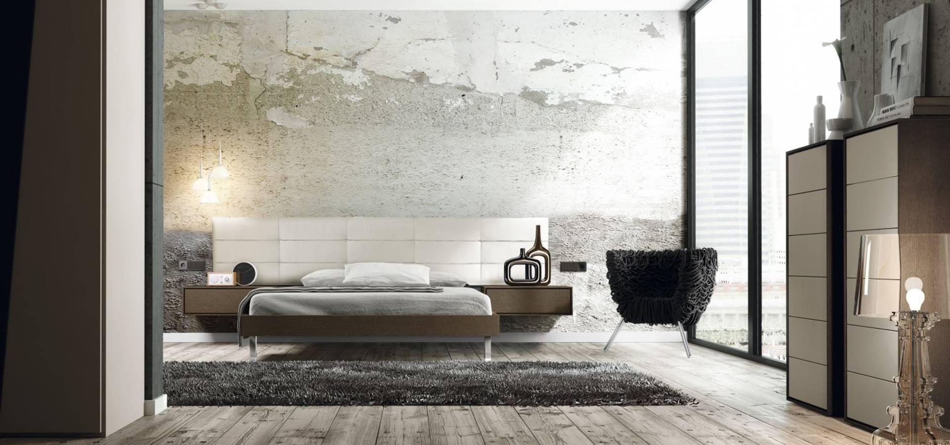 dormitorios emede de muebles begui homify