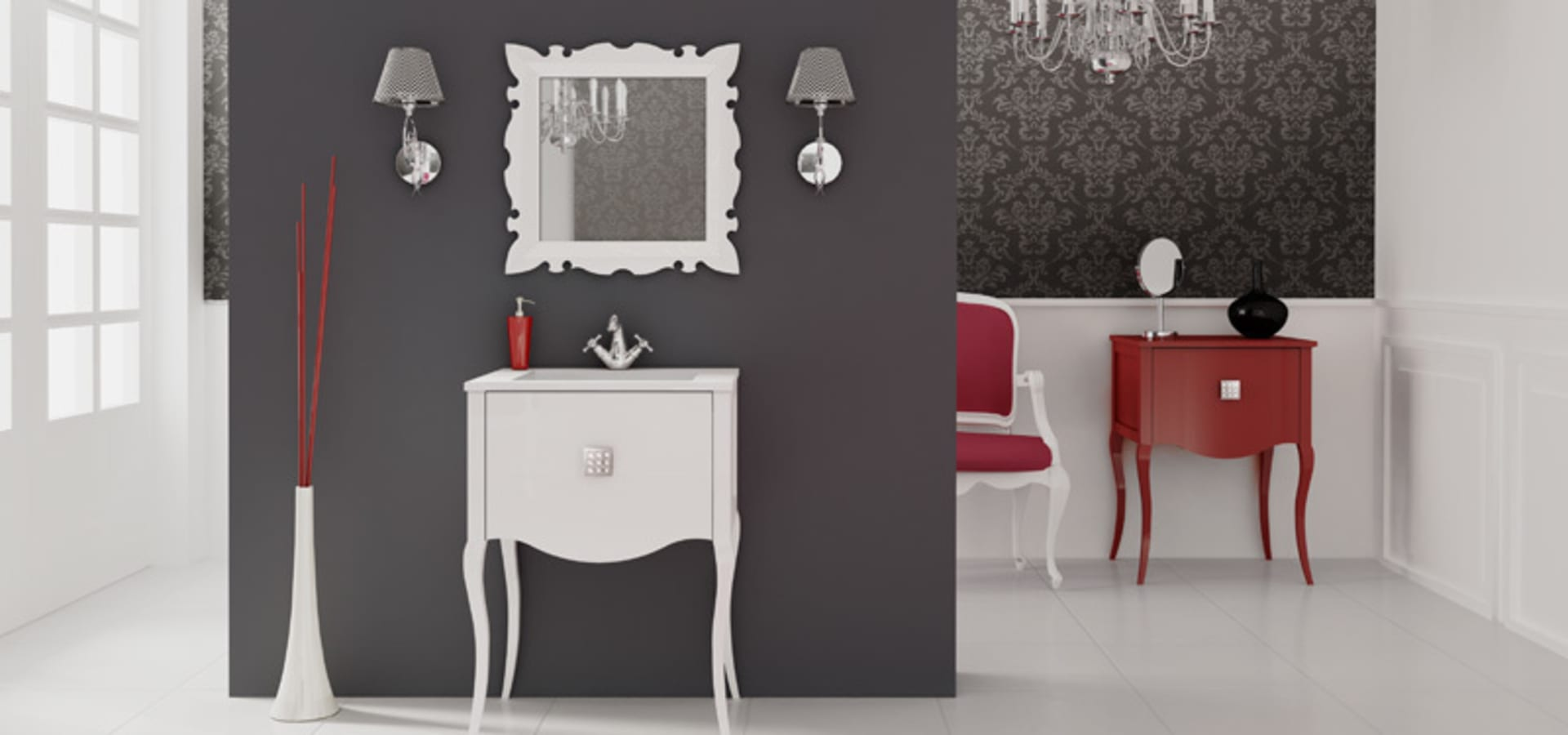 Muebles de ba o estilo neocl sico de ba os online homify - Banos on line ...