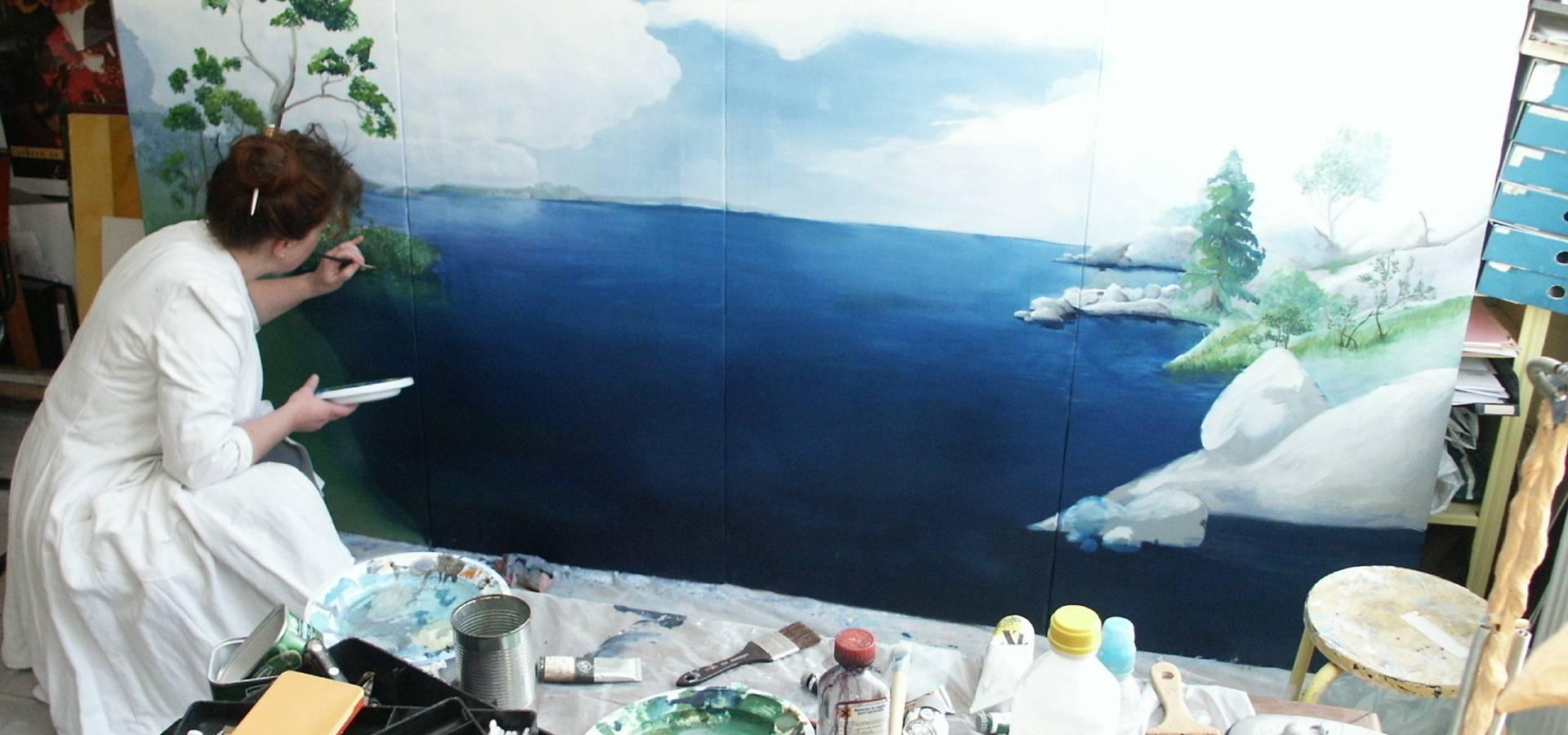 Addenda, peintre decorateur