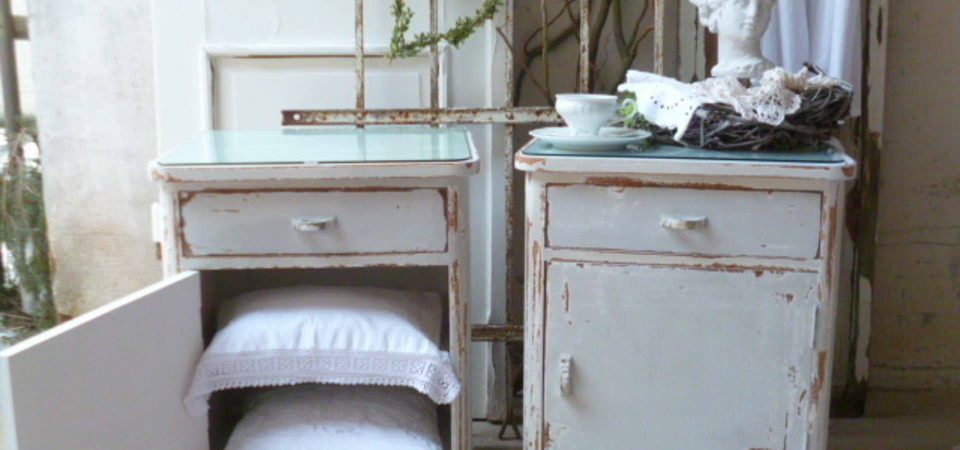 vintage bank shabby chic por kunstwerkstatt homify. Black Bedroom Furniture Sets. Home Design Ideas