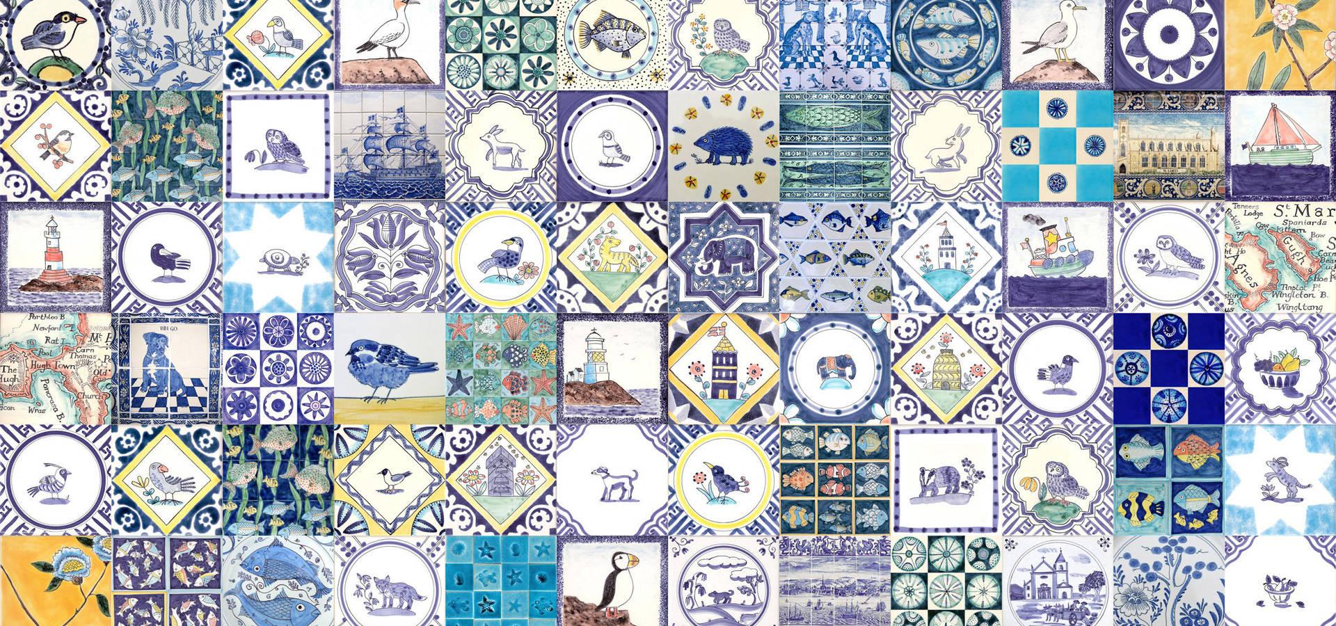 Reptile tiles & ceramics