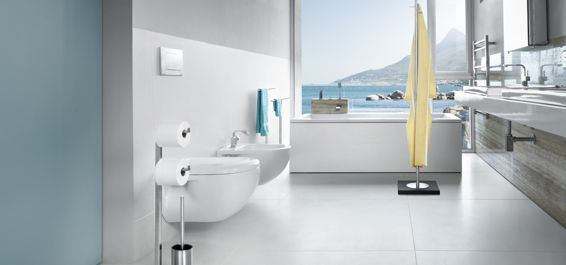 Salle de bains d bathroom designers in paris homify for Decoration salle bain