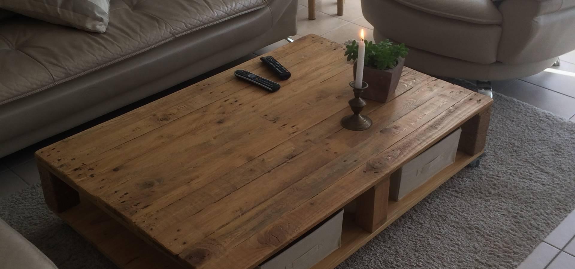 tables basses et consoles palette par l'atelier zora | homify