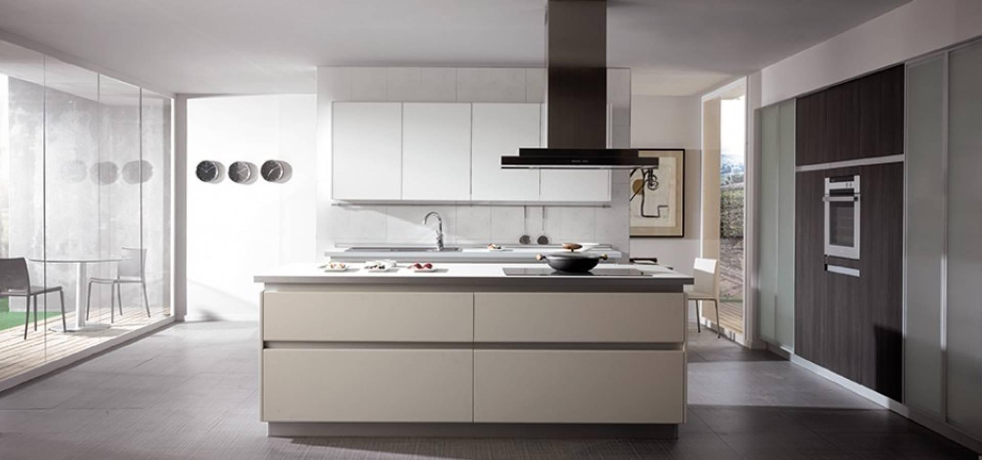 Las cocinas vegasa kitchen y sus muebles sin tirador de for Muebles de cocina vegasa