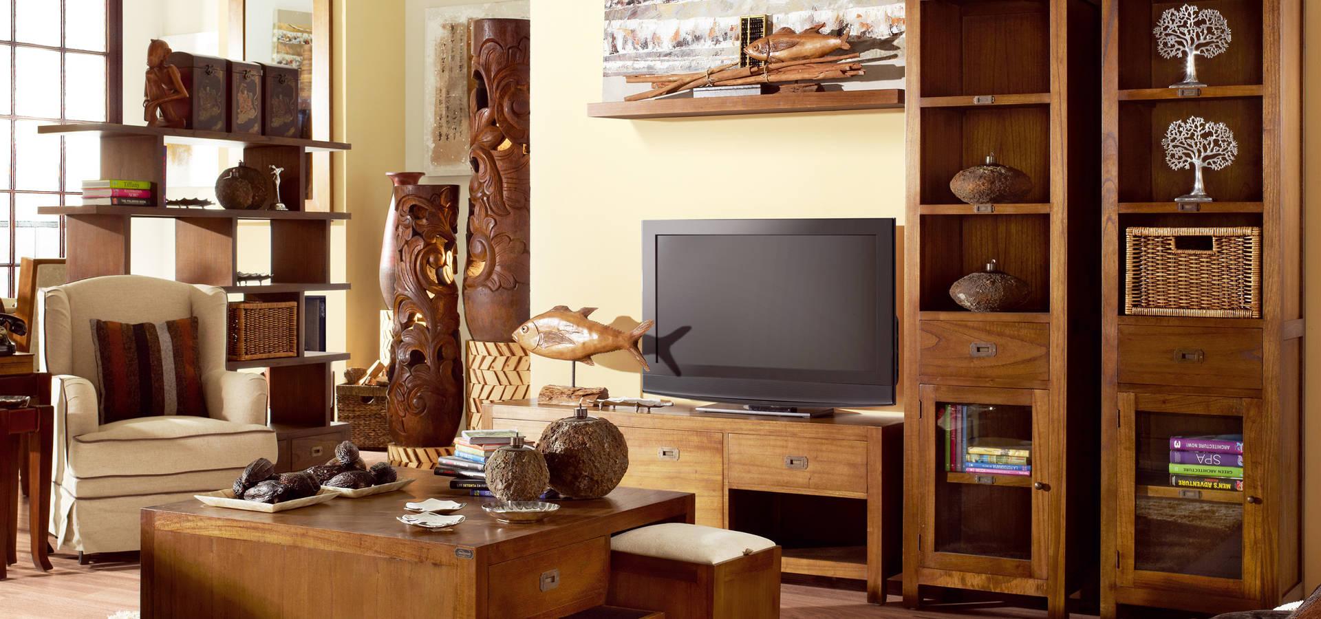 Rustico colonial muebles y accesorios en alca iz homify for Muebles alcaniz