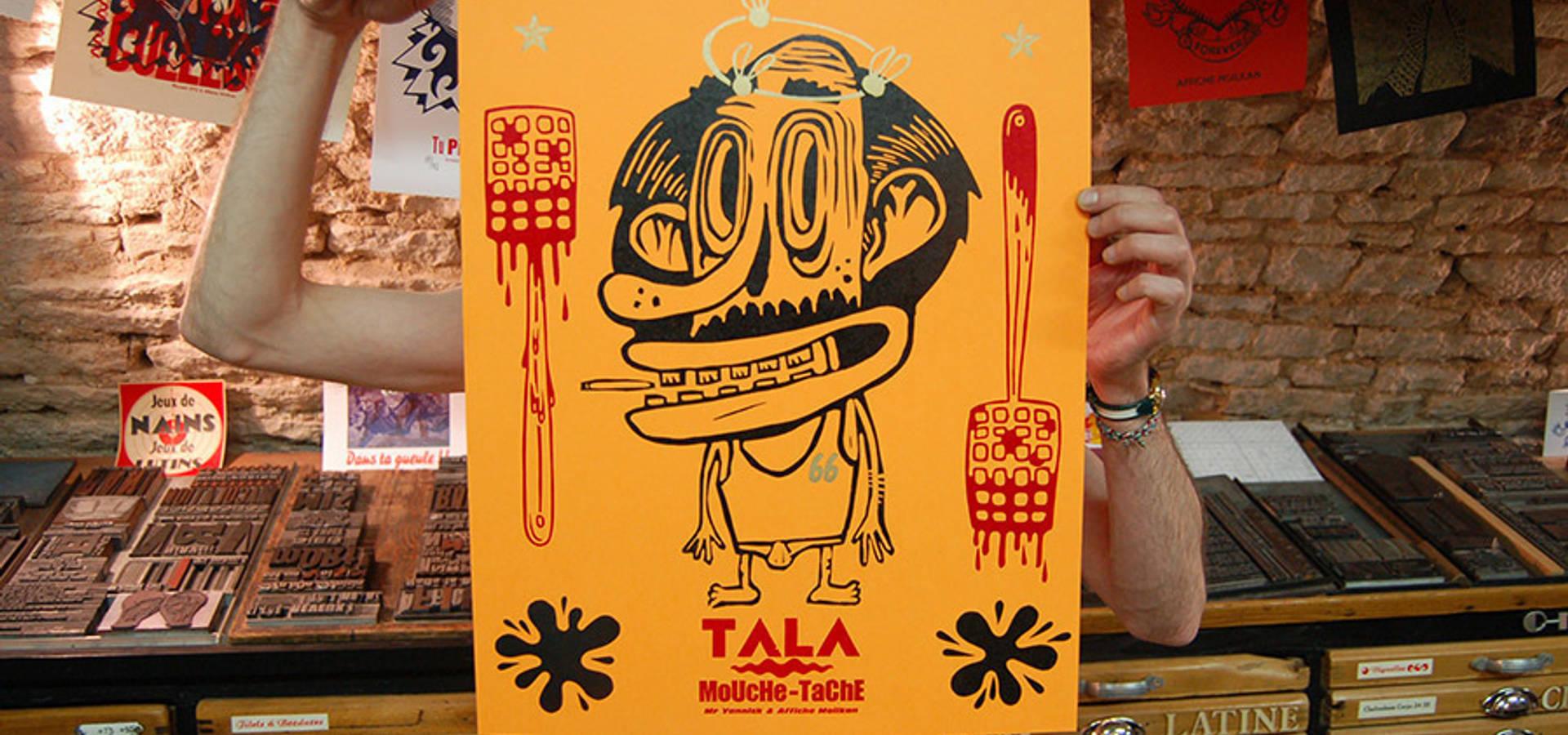 Affiche Moilkan tala mouche-tache !affiche moilkan | homify