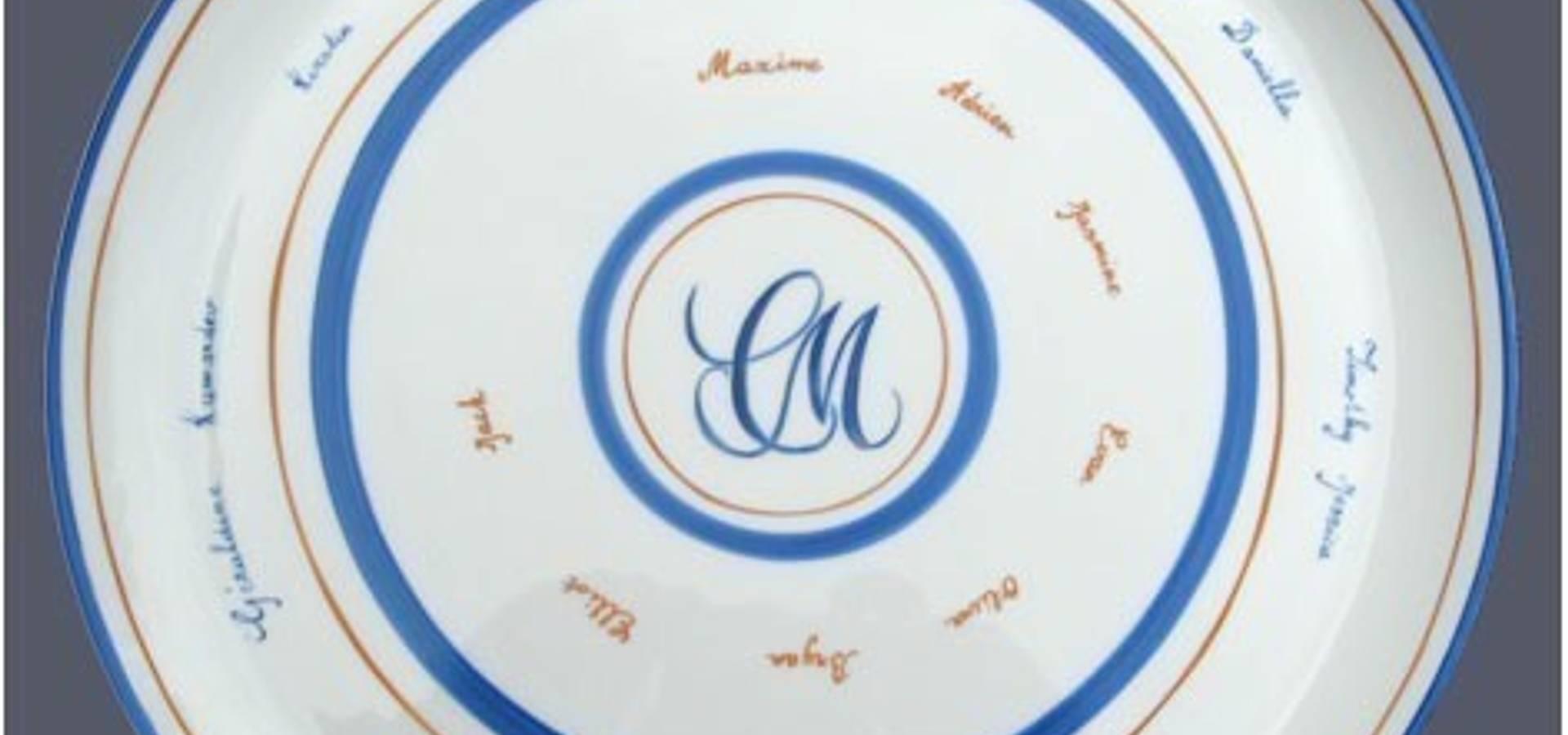 Isabelle Cadot porcelaine création
