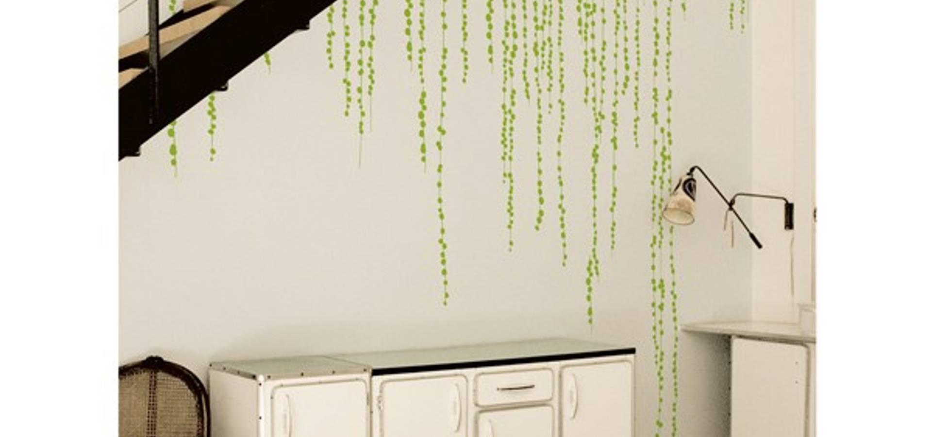 wallstickers jungle peas profesjonalista ich et kar homify. Black Bedroom Furniture Sets. Home Design Ideas