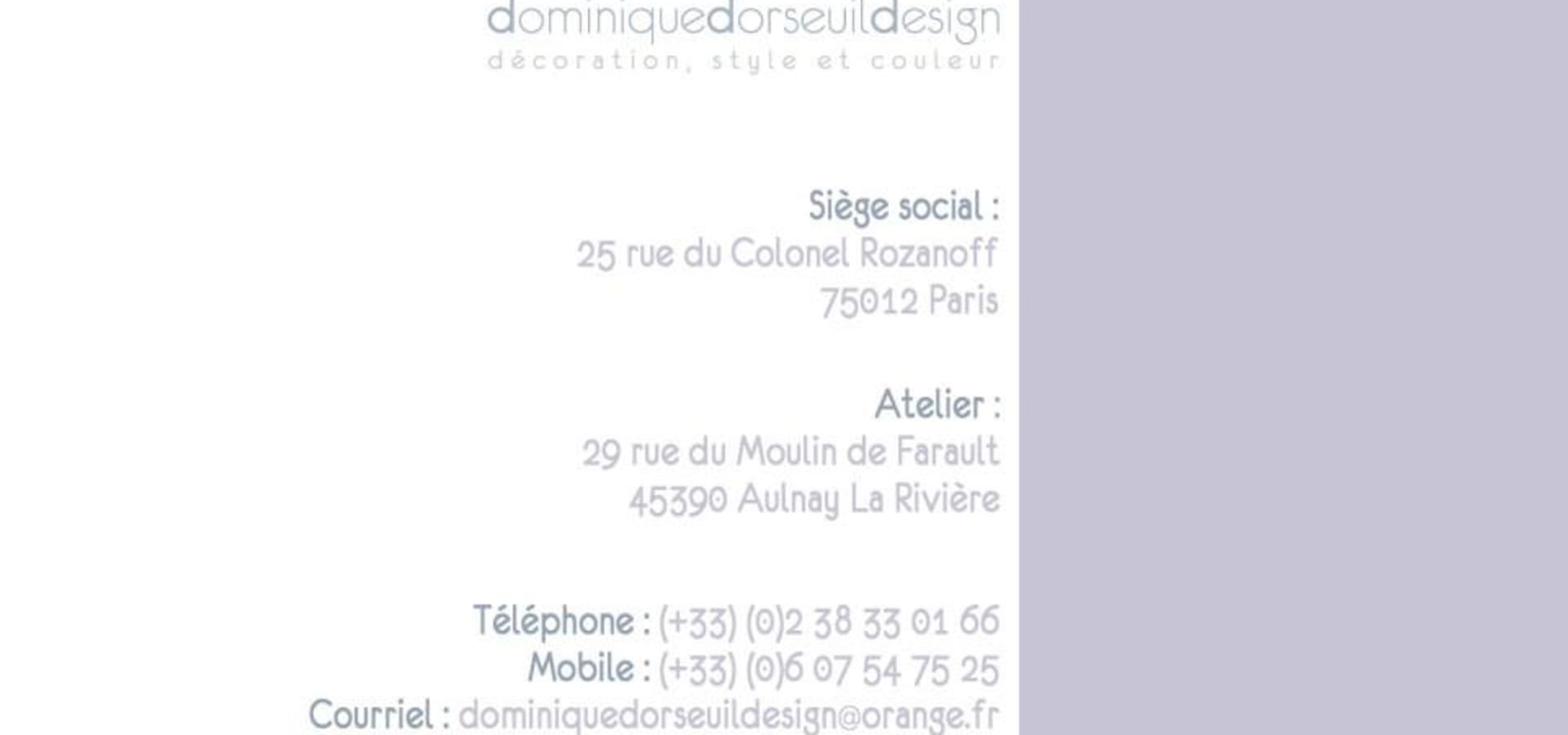 Dominique Dorseuil Design