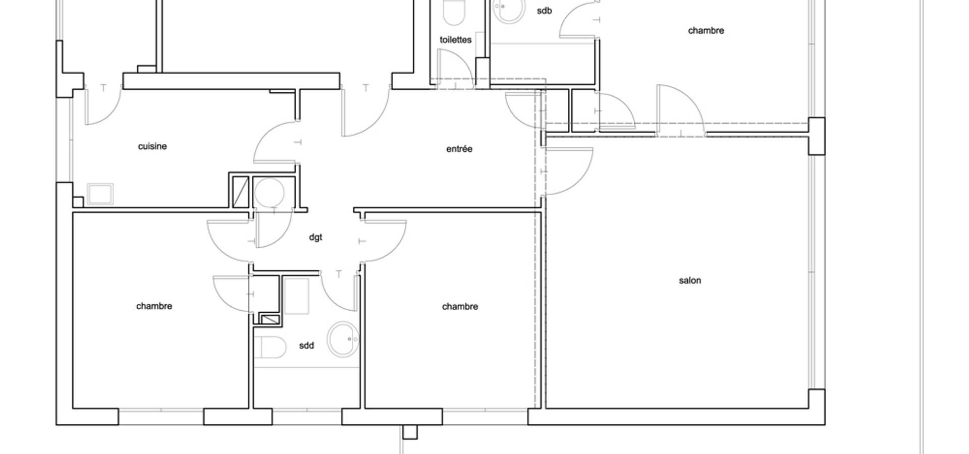 luana natale architecte architectes nice sur homify. Black Bedroom Furniture Sets. Home Design Ideas