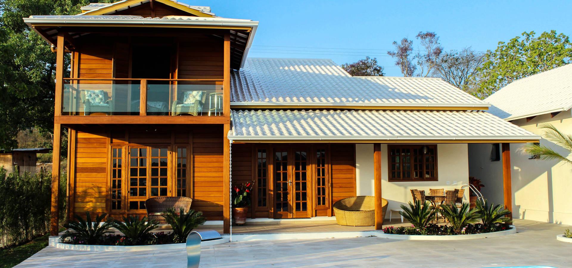 CASA & CAMPO – Casas pré-fabricadas em madeiras