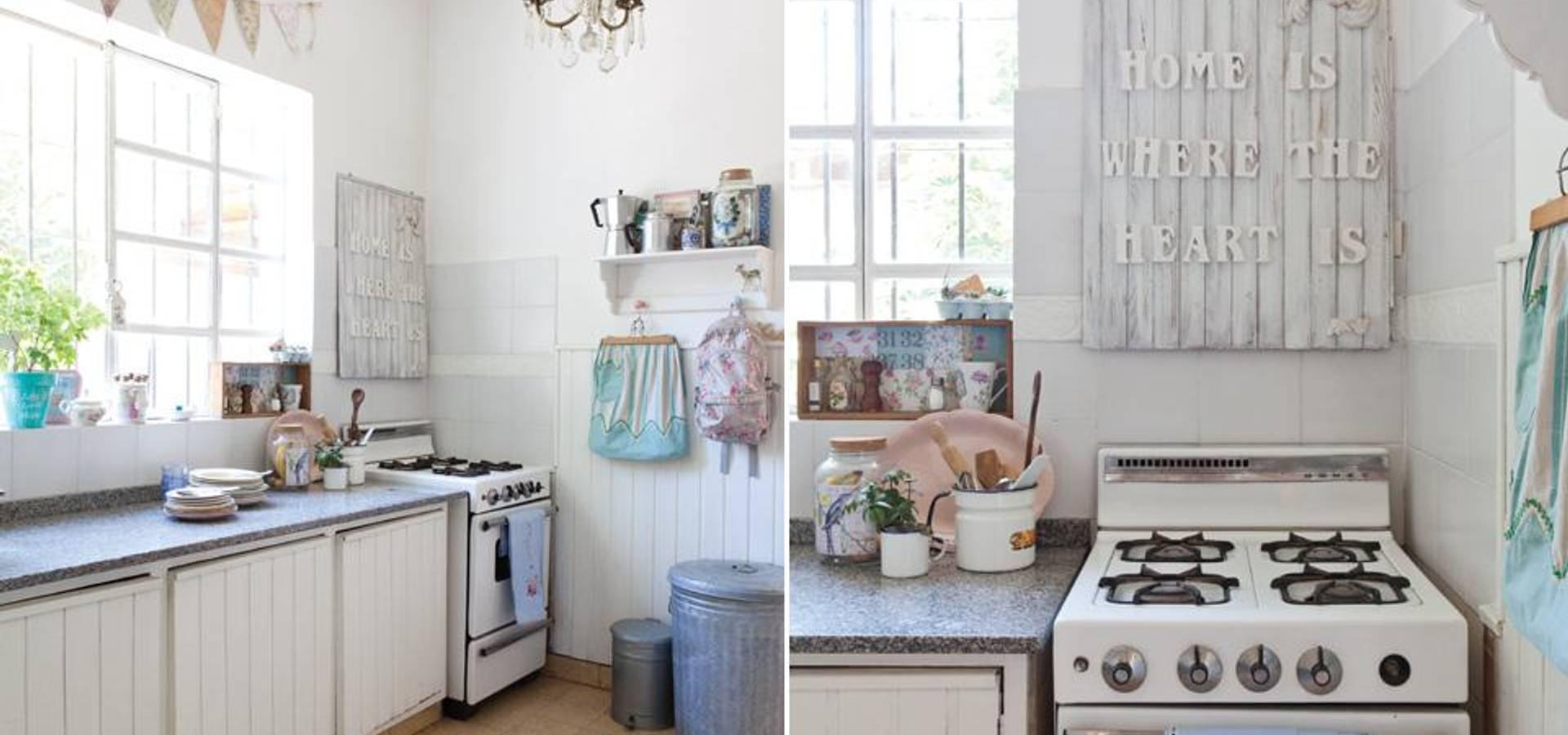 Decoraci n de interiores casa vintage profesjonalista la florinda homify - Decoracion interiores vintage ...
