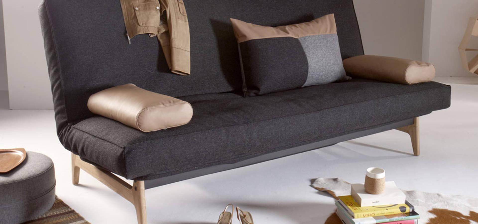 schlafsofa dauerschl fer by homify. Black Bedroom Furniture Sets. Home Design Ideas