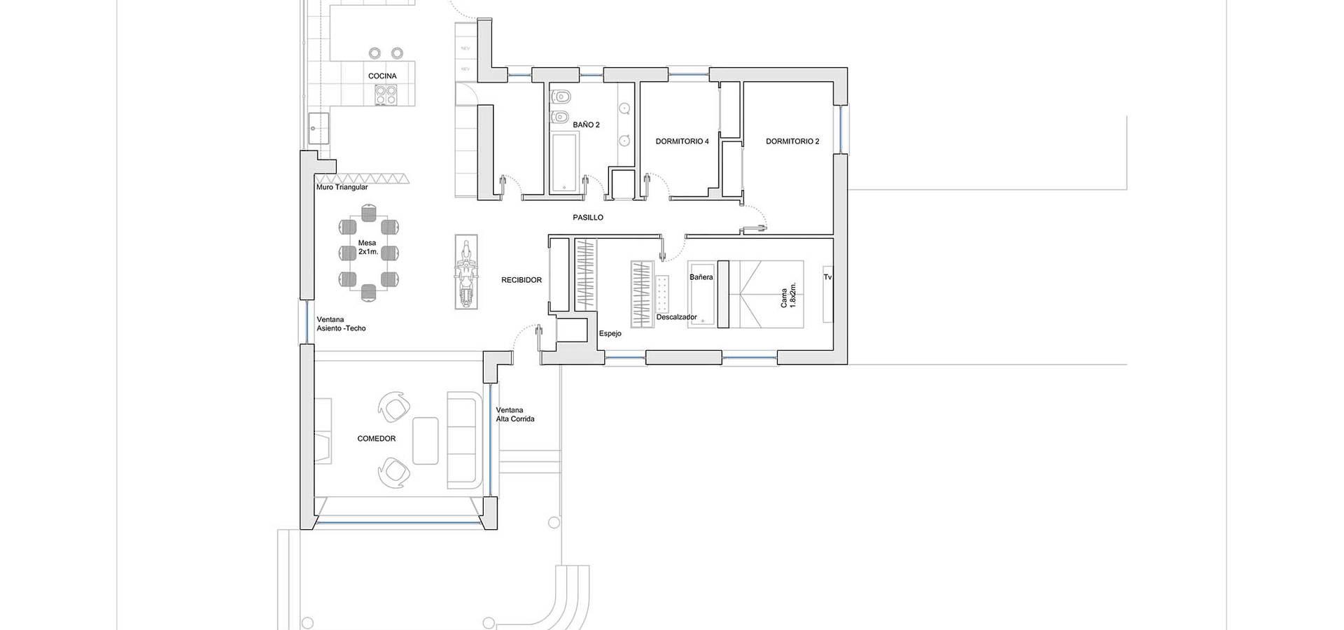 Estudio de Arquitectura 2E+1L