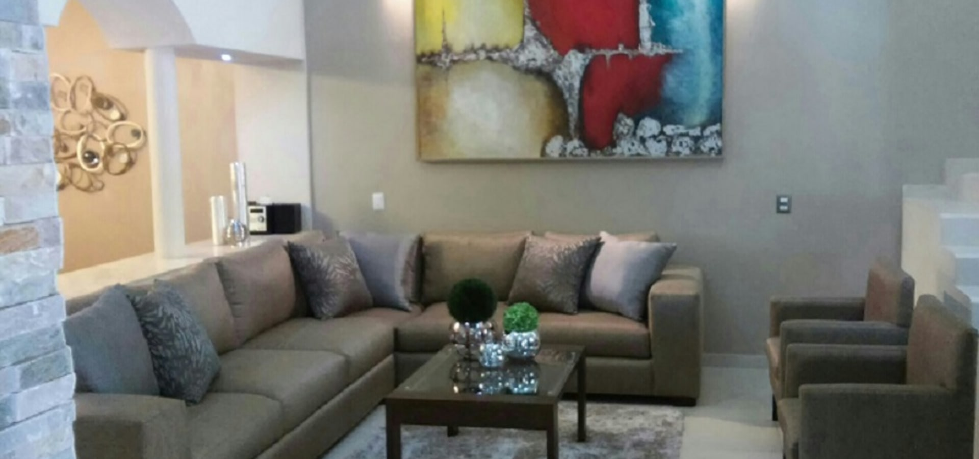 Donatello interiores sala estilo mexicano for Salas estilo mexicano contemporaneo