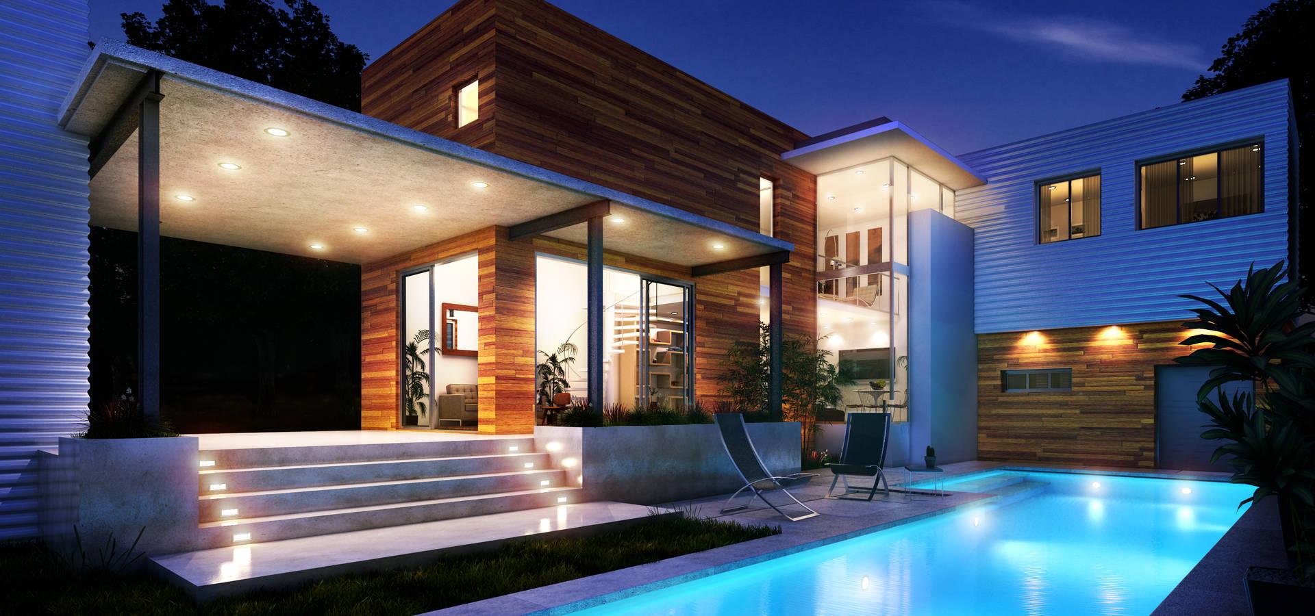 Renders + Arquitectura