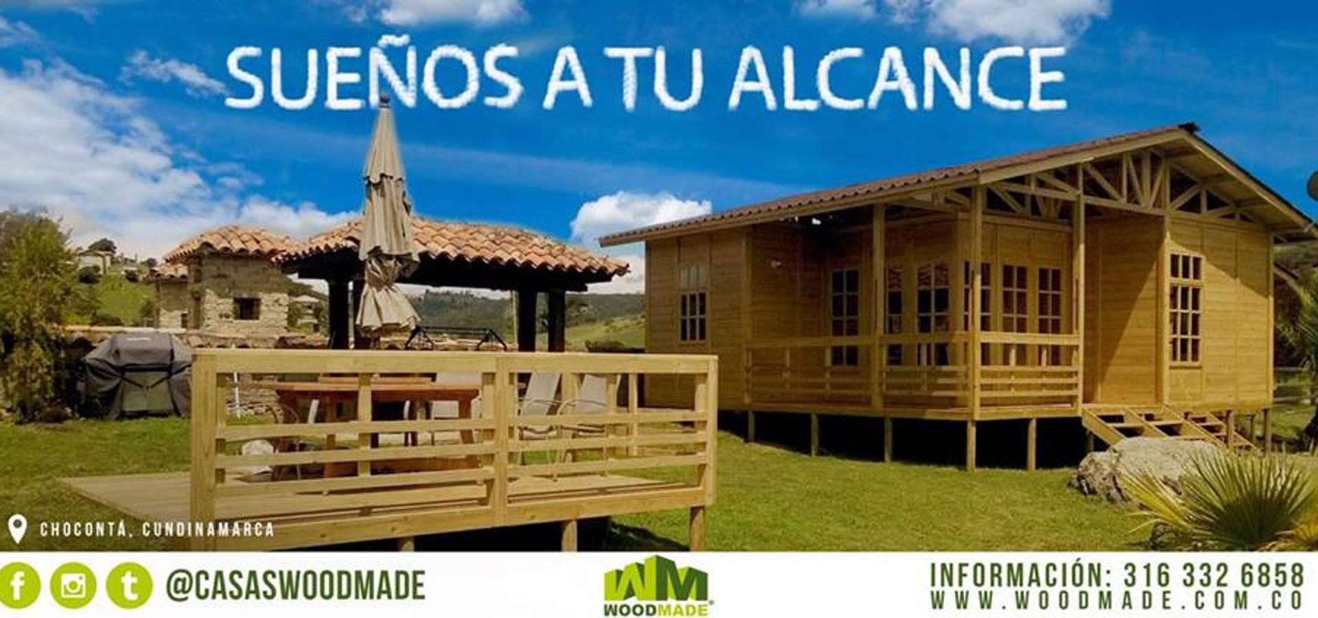 Casas de madera de woodmade homify for Homify casas