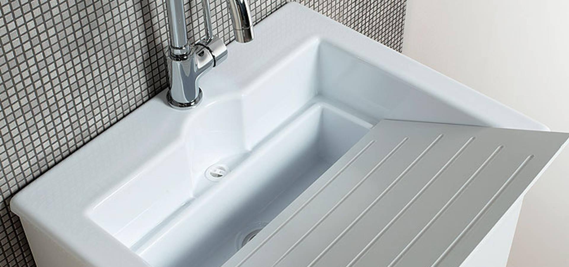 Vasca da bagno angolare serie Wap 150x100xh55 di Jo-Bagno.it | homify