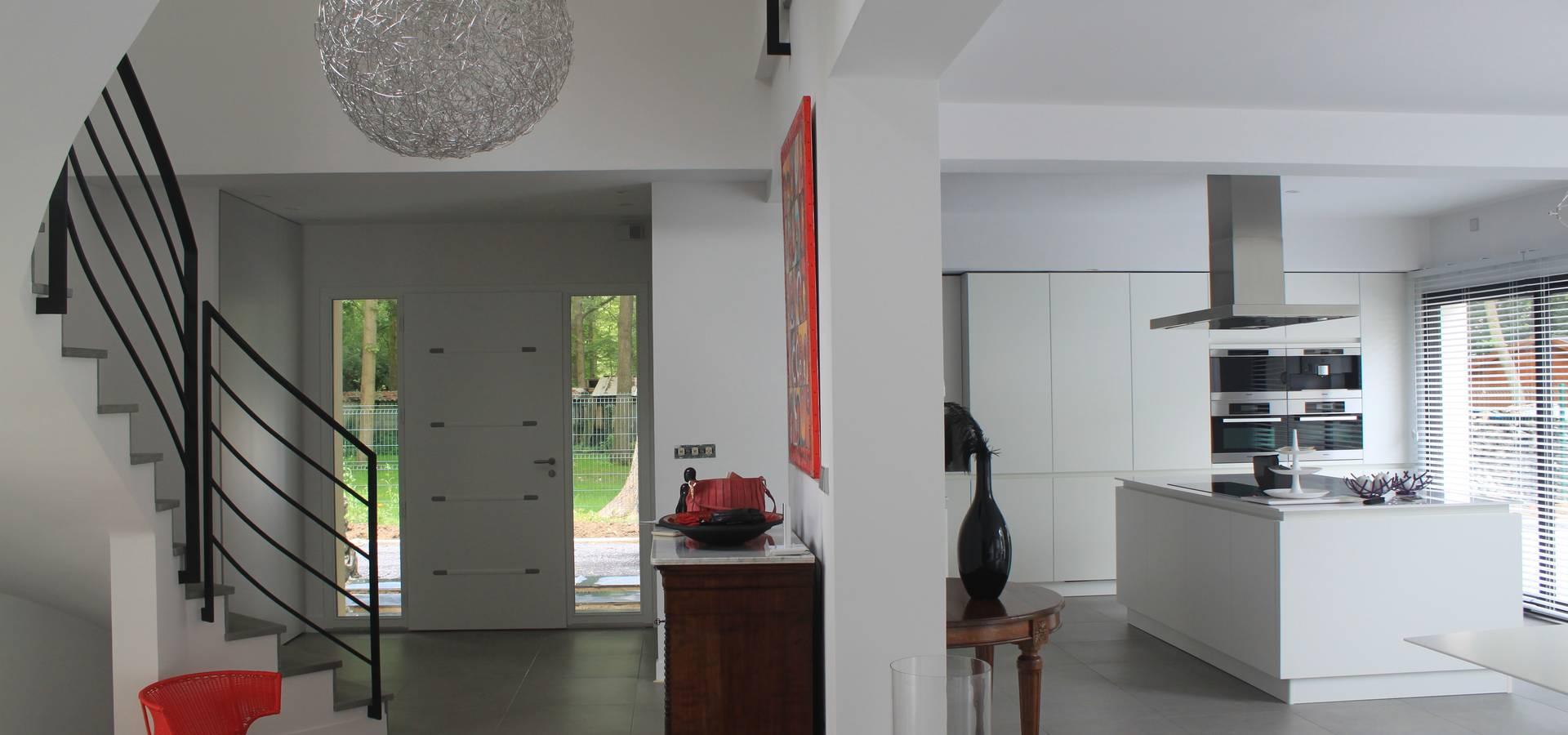 Maison contemporaine Chantilly von SG CONCEPT Décoration d\'Intérieur ...