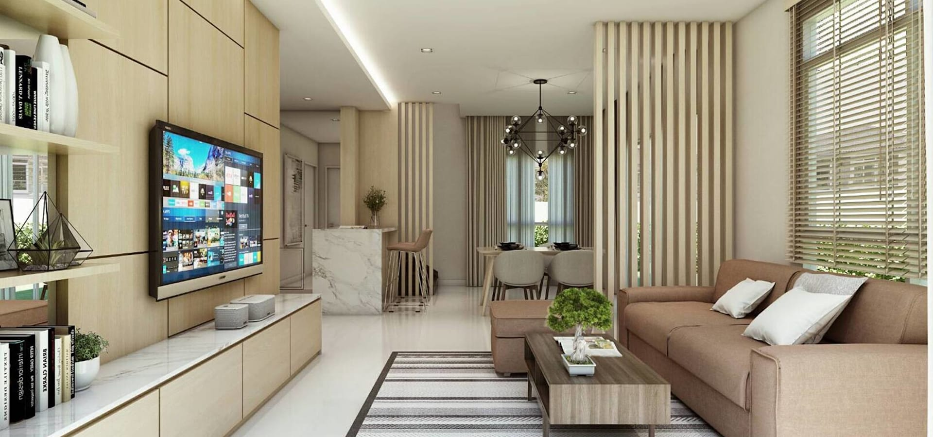 Built Inspire รับออกแบบตกแต่งภายใน บิ้วอิน บ้าน คอนโด