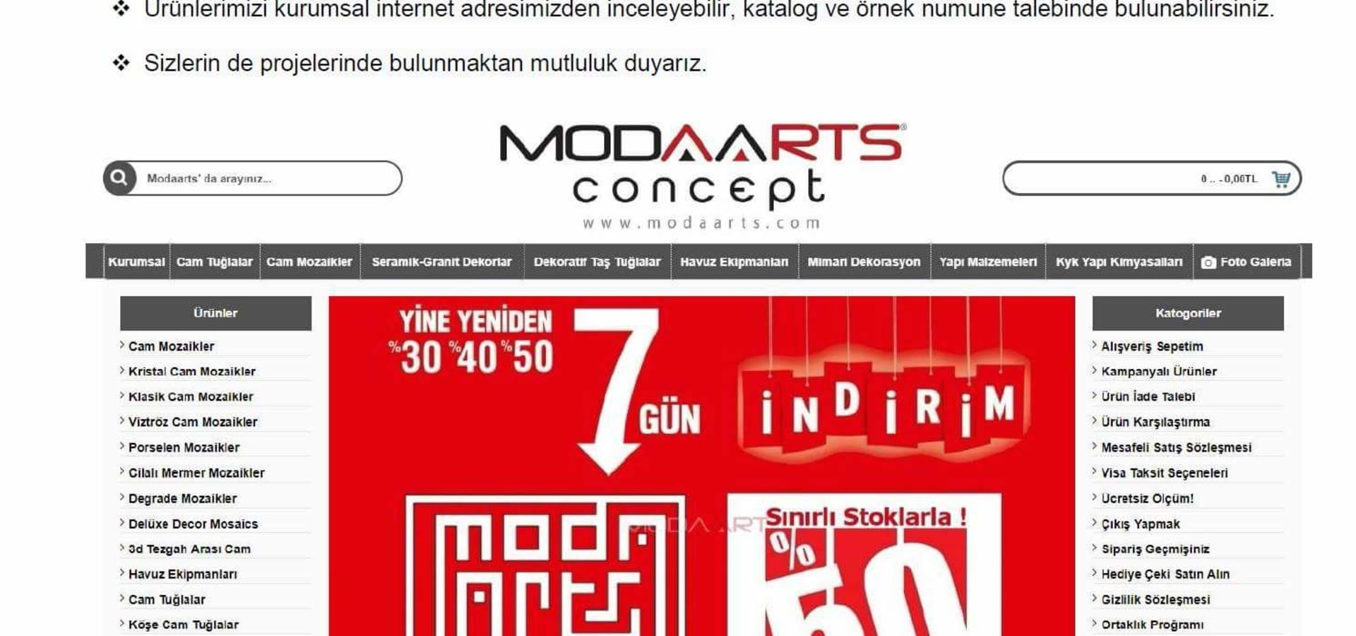 Modakristal İnşaat San.Tic.Ltd.Şti.