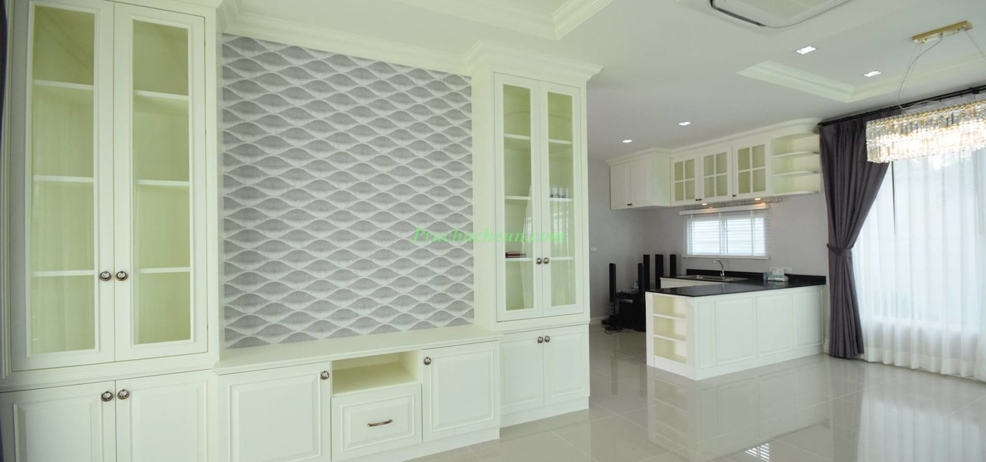 Prachacheun interior design built-in