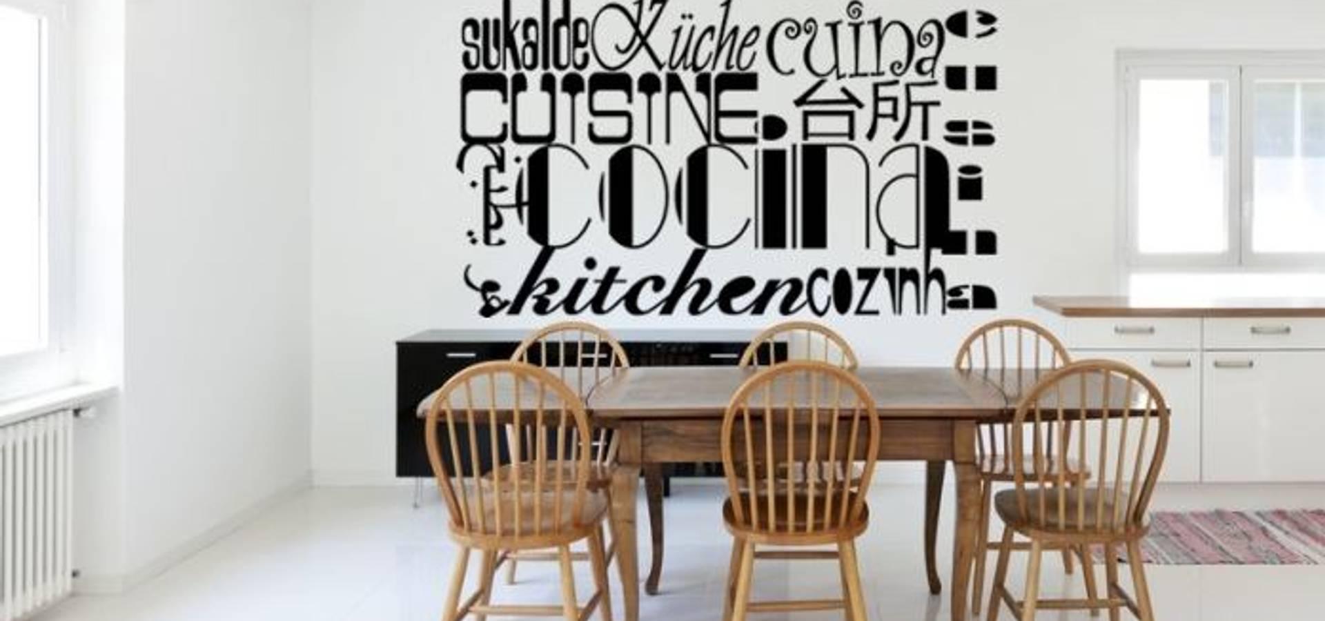 Autocolantes Decorativos Lojas Online Em Elvas Homify -> Adesivos Decorativos Para Sala De Jantar