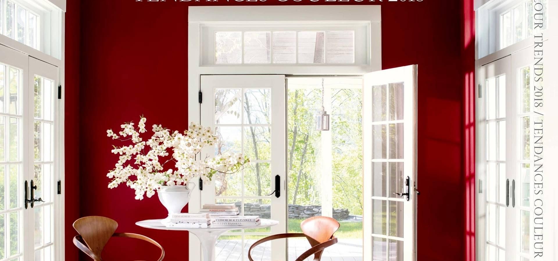 tendances couleur 2018 par benjamin moore france homify. Black Bedroom Furniture Sets. Home Design Ideas