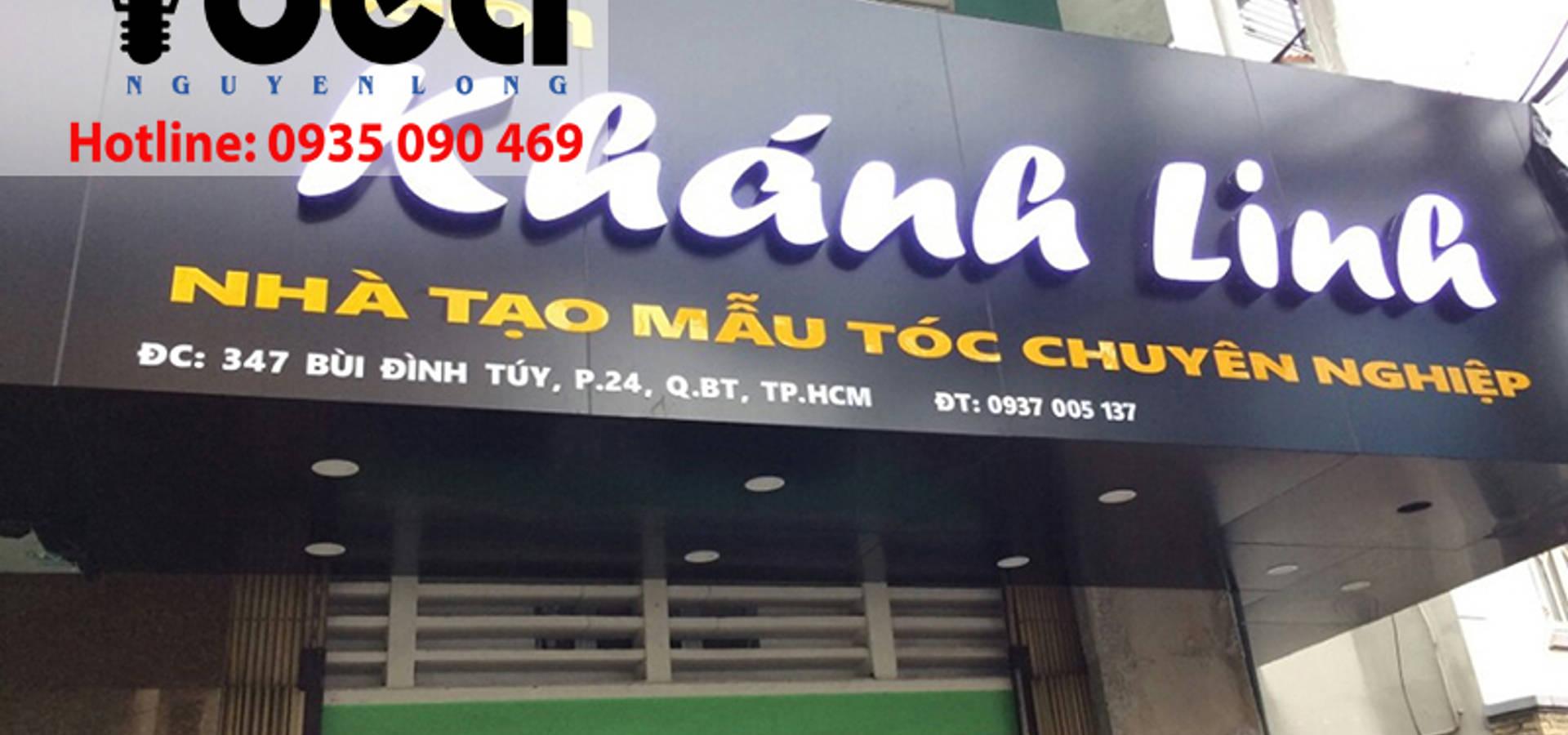 Thiết kế in ấn bảng hiệu Nguyễn Long Idea