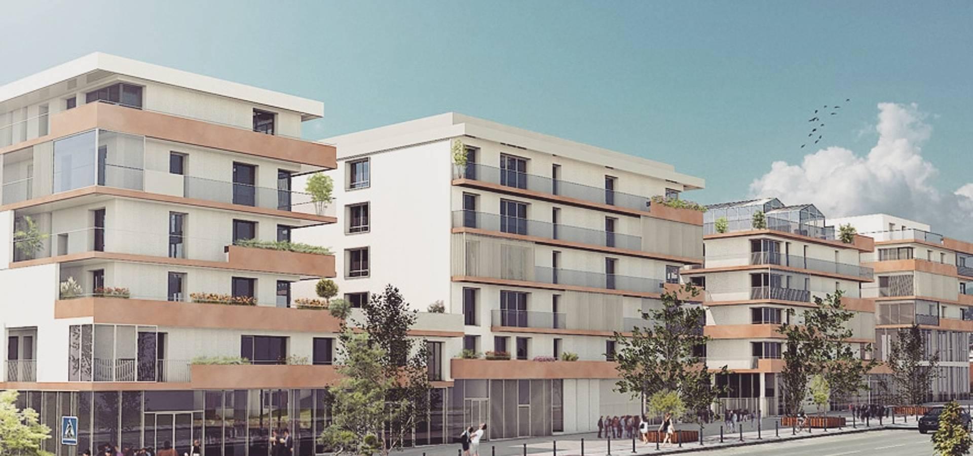 f6413c6897f Perspective 3D d un programme immobilier créer par Geoffrey HEVIN ...