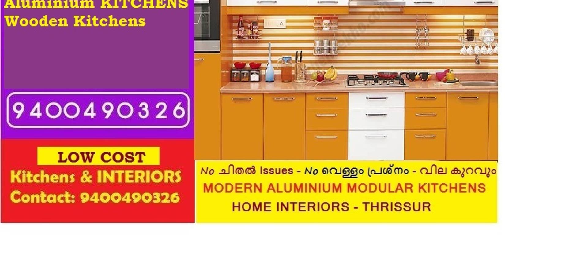 Bangalore ALUMINIUM MODULAR KITCHEN BANGALORE—LOW COST- PH 9400490326