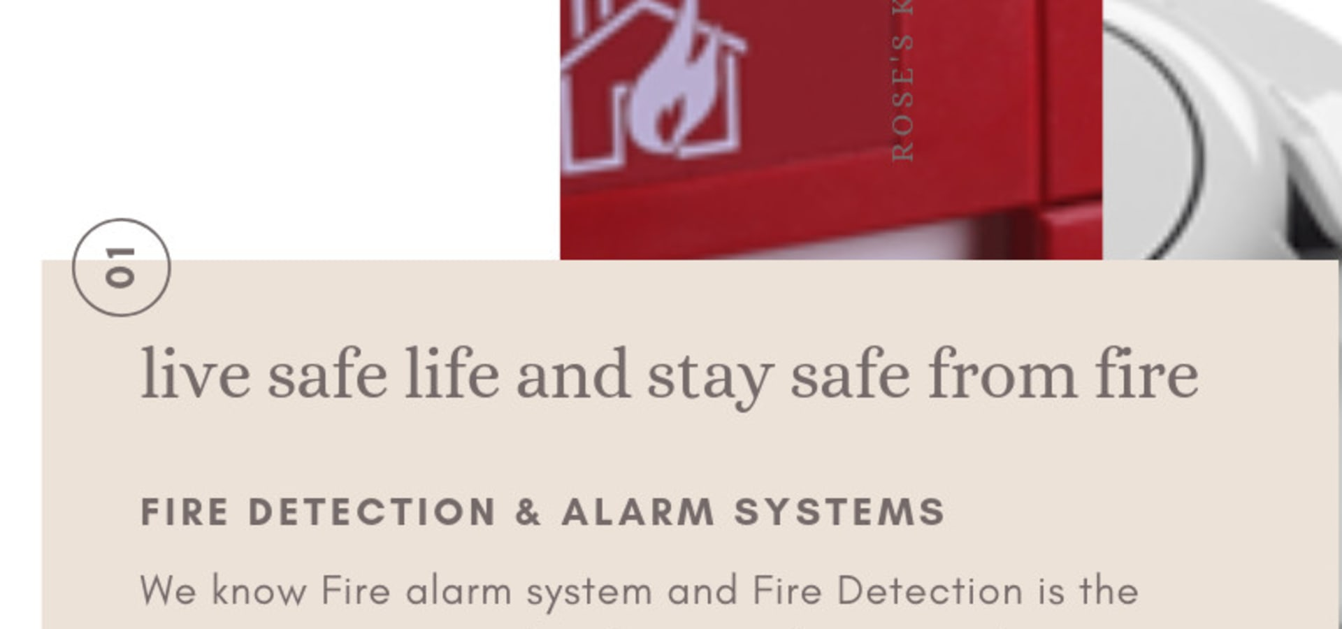 Fire Detection & Alarm System in India