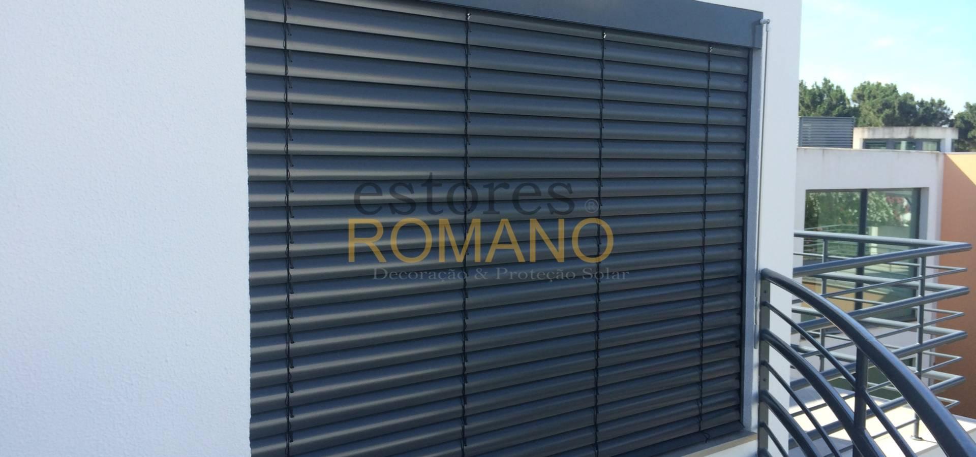 Estores Romano- Decoração & Proteção Solar