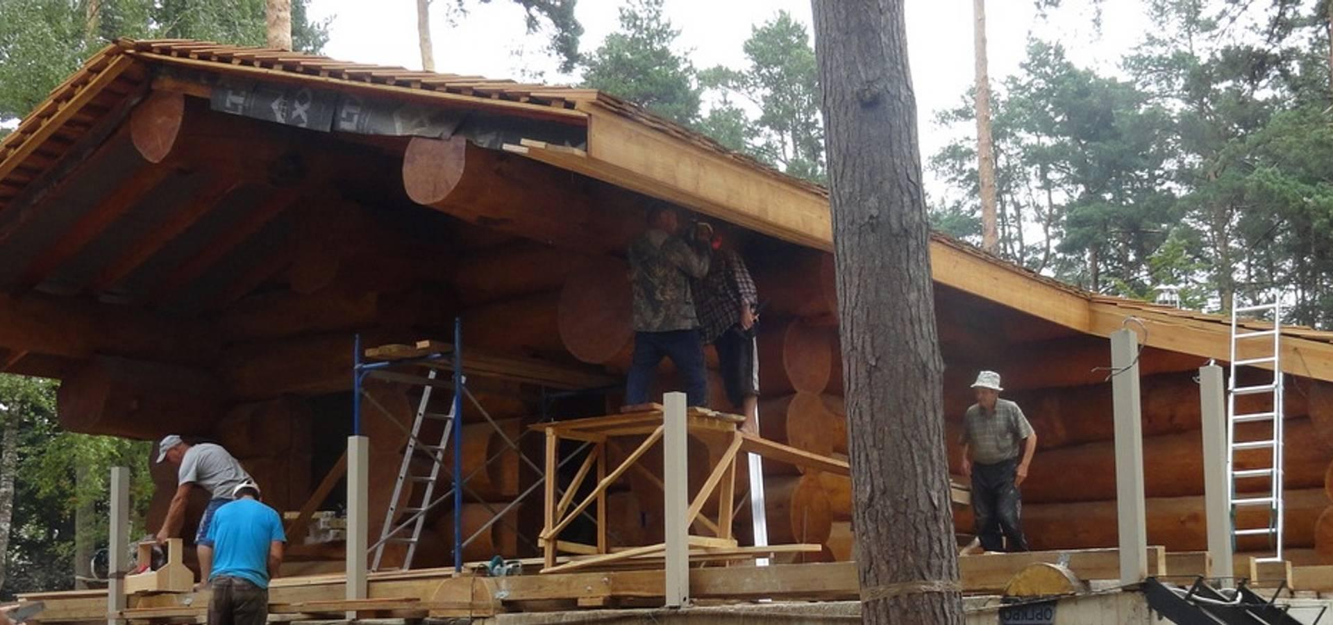 Медвежий лог – дома из кедра
