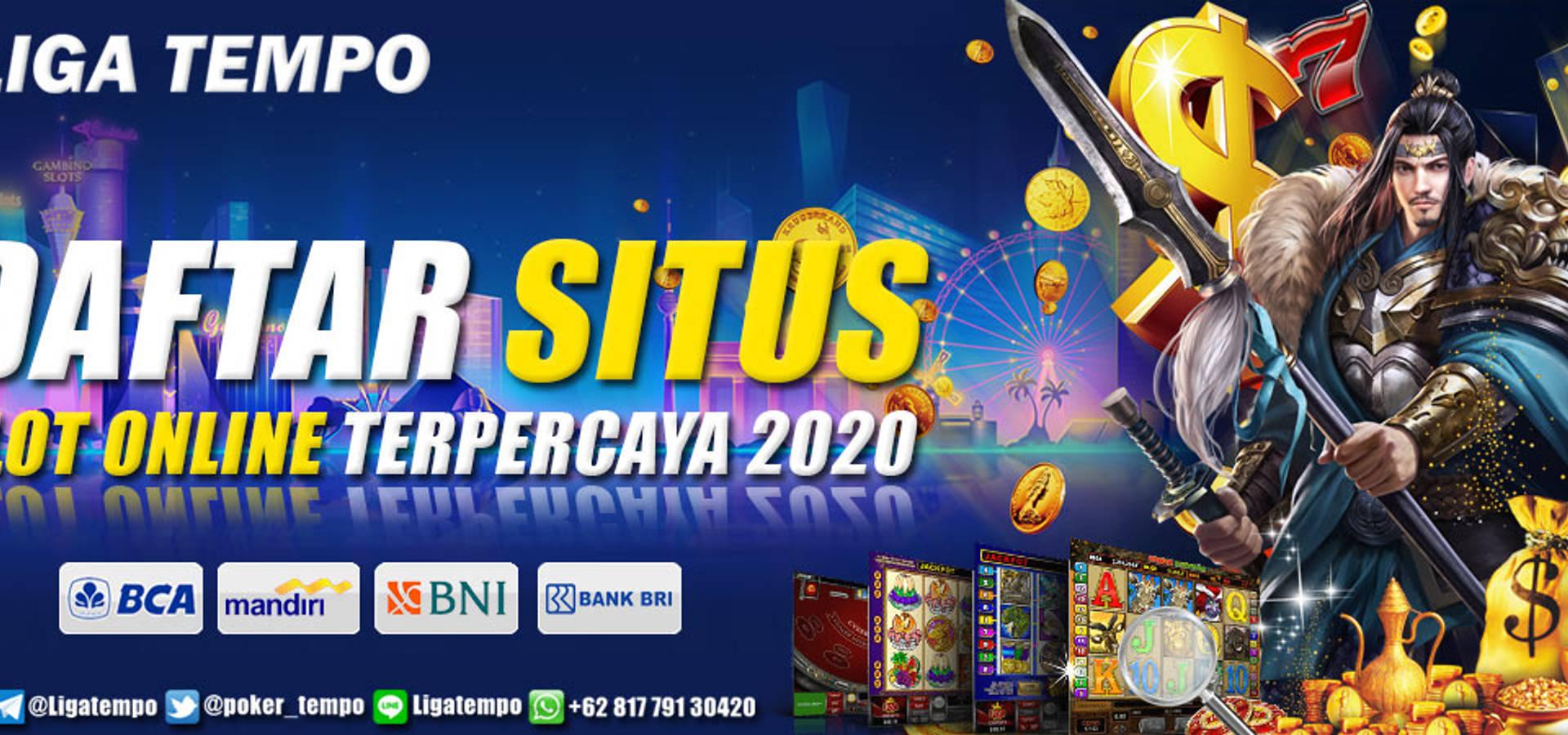 LIGATEMPO Daftar Situs Slot Online Terpercaya 2020