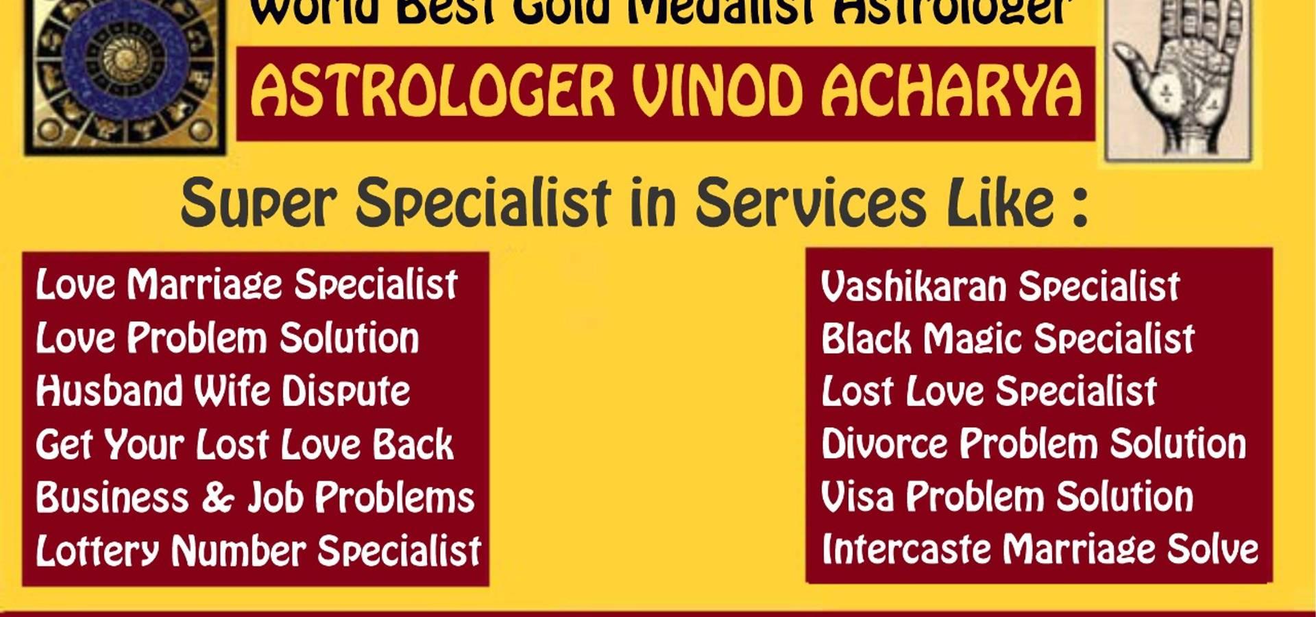 Astrologer Pandit Vinod Shastri