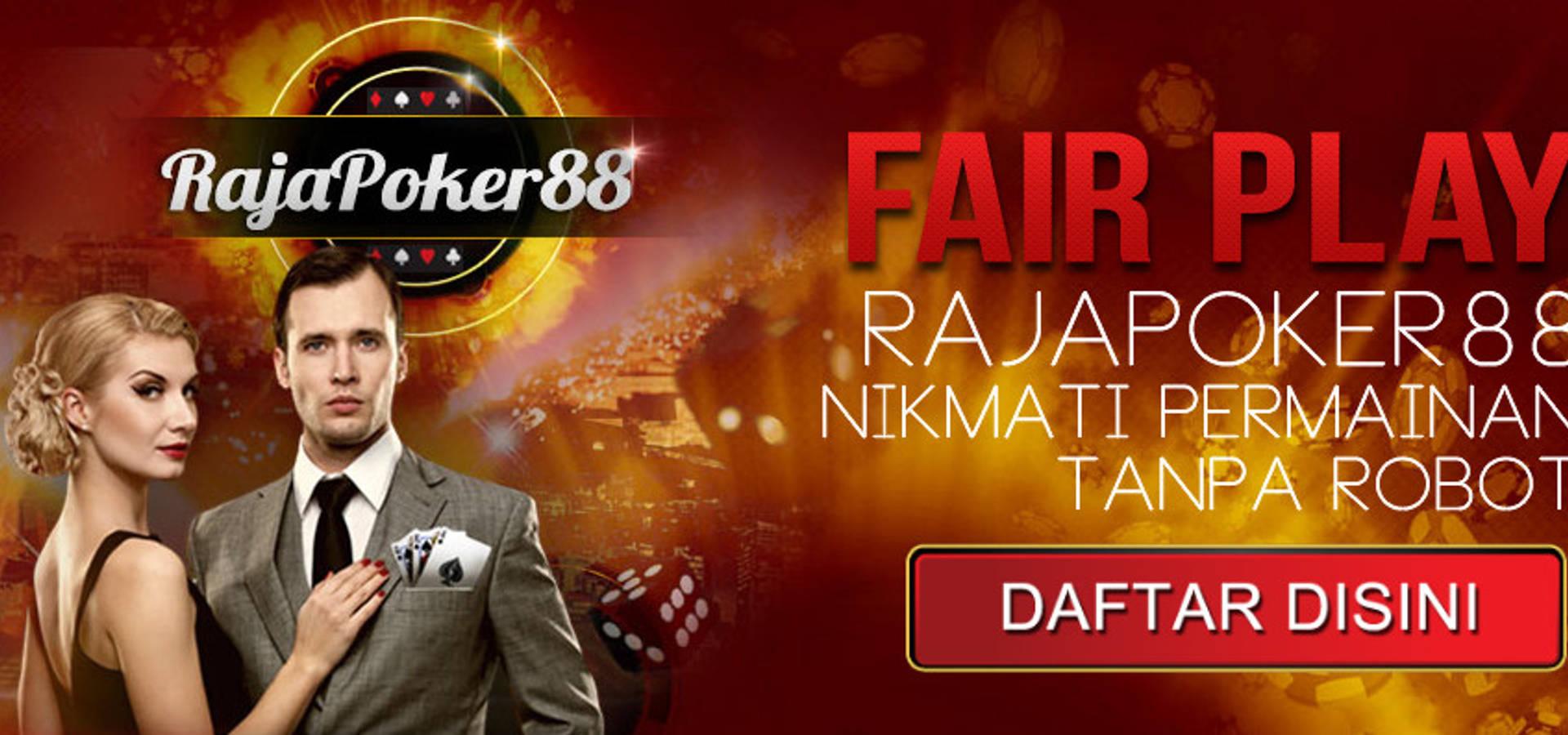 Rajapoker88 Situs Poker Online Deposit Pulsa