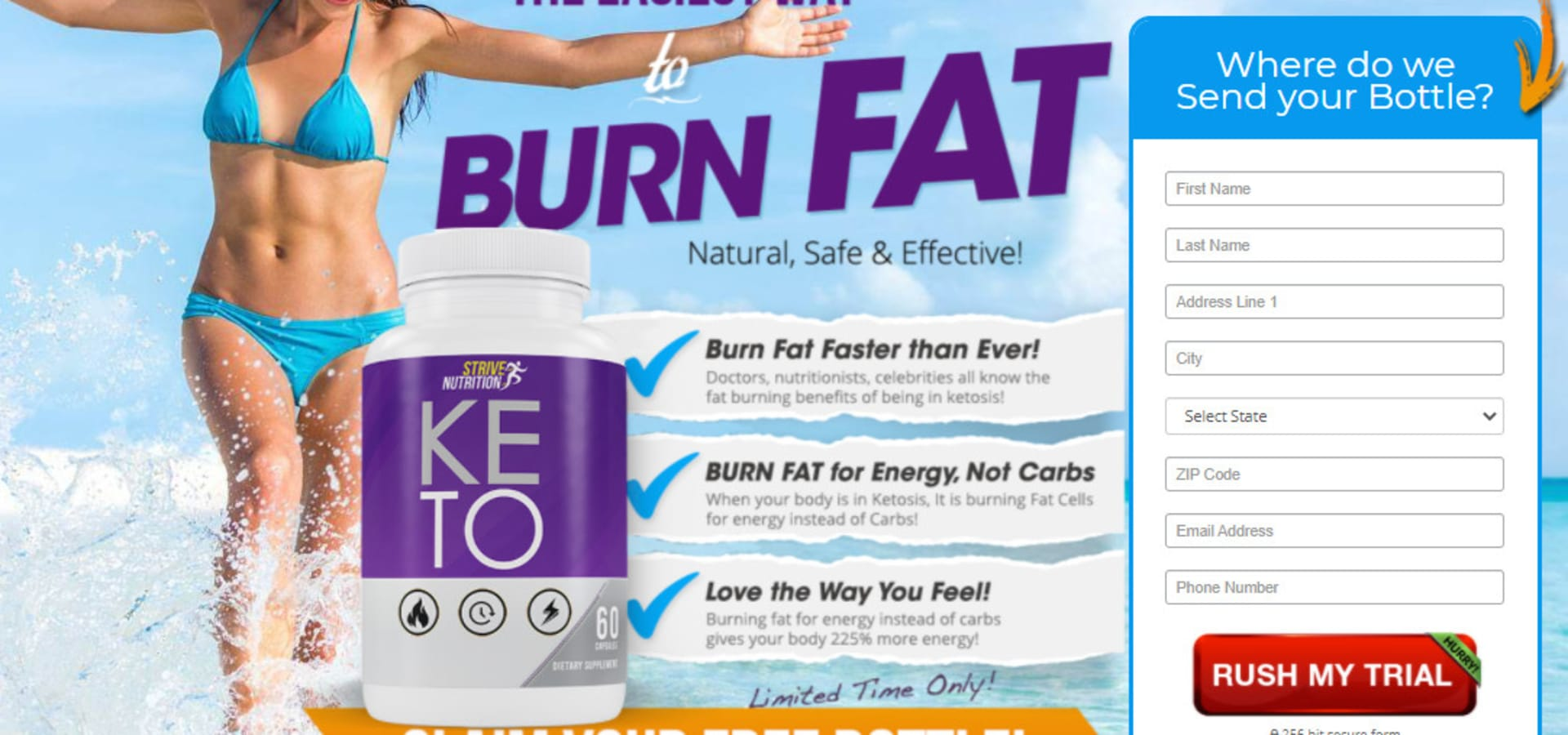 Strive Nutrition Keto Diet
