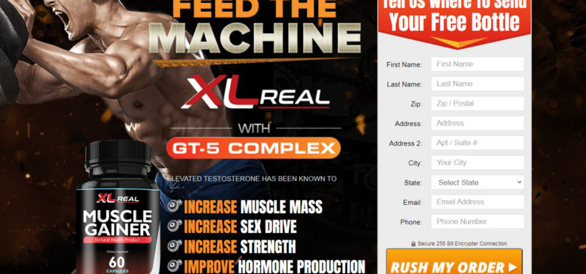 XL Real Muscle Gainer Reviews