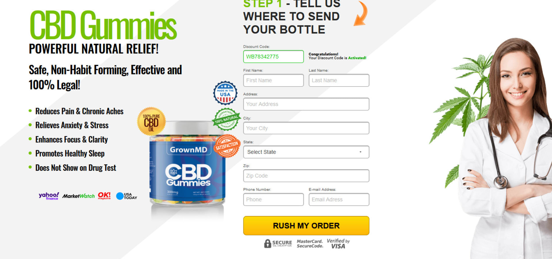 GrownMD CBD Gummies US: Home Appliances in New York | homify
