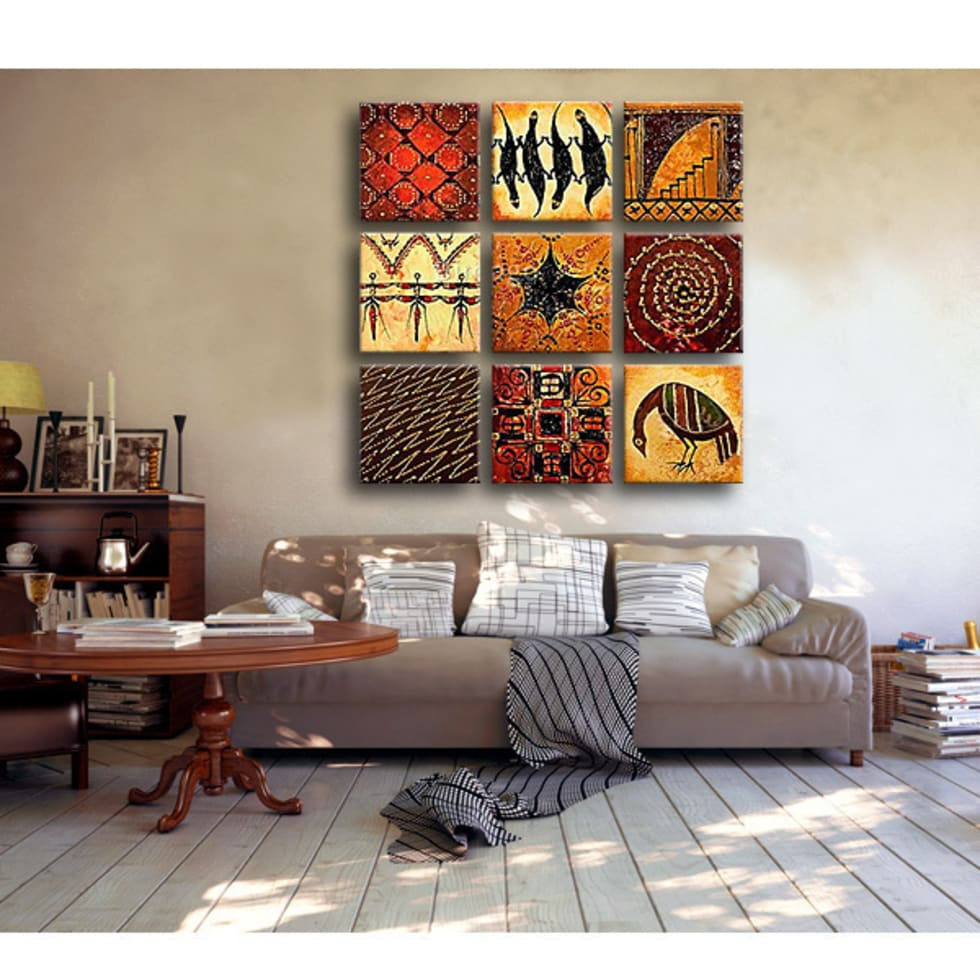 Rompecabezas de ornamentos: Salones de estilo tropical de BIMAGO