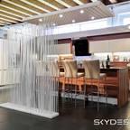 www.skydesign.news - Raumteiler aus Berlin - Sichtschutz Terrasse
