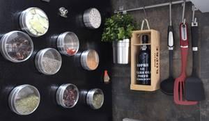 Cocina de estilo translation missing: es.style.cocina.moderno de Natali de Mello - Arquitetura e Arte